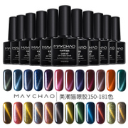 Beautiful tide Cat Eye Gel Nail Polish Manicure gradient 3D glass jade star cat rubber magnet Bobbi phototherapy Nail Polish