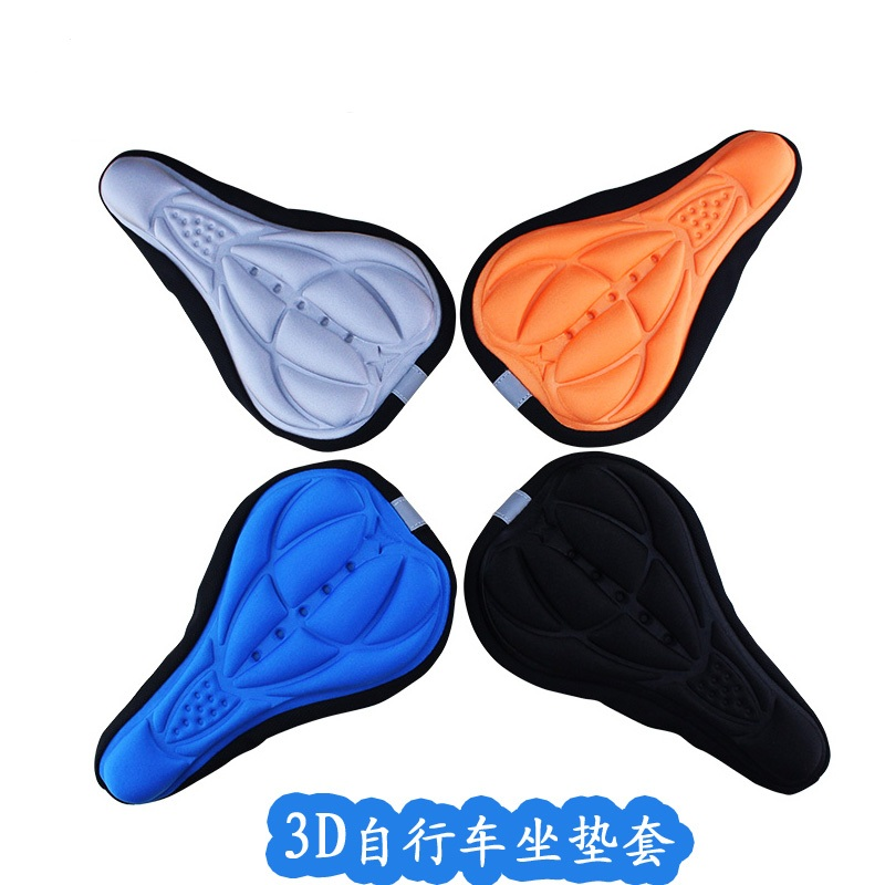 3D breathable bicycle saddle cover riding equipment dead fly mountain bike seat cover