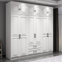 Wardrobe Household bedroom Simple modern American assembly Economical cabinet Rental room with small apartment type girls wardrobe