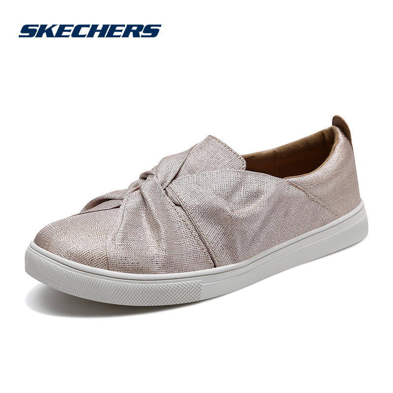 Skechers SKECHERS Women's Shoes New Fashion One-Piece Sneakers Street Lazy Casual Shoes 73510