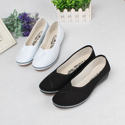 A pair of nurse shoes, white slope, shoes, shoes, hair, beauty, shoes, shoes, shoes, beauty salons, women's shoes