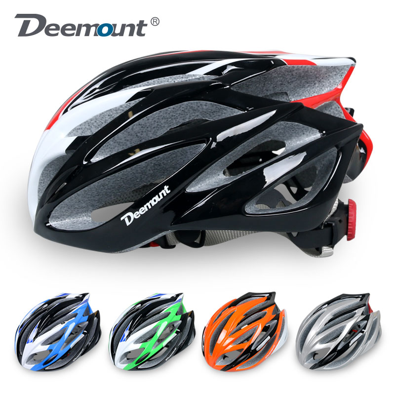 Deemount bicycle riding helmet road bicycle integrated shape helmet riding equipment for men and women