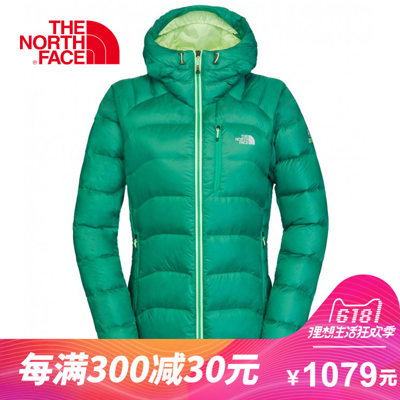 [The goods stop production and no stock]THE NORTH FACE/Northern female models outdoor 700 Peng warm and windproof can be packaged hooded down jacket CC50