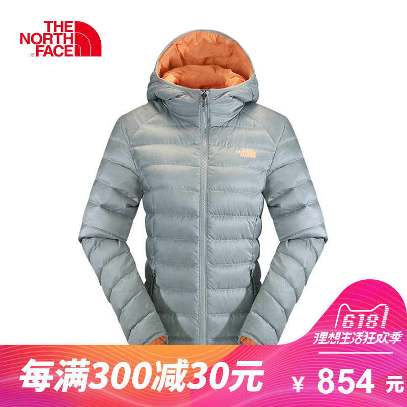 The NORTH FACE/North Outdoor Female 700-fluff Down Packing Down Coat CTW0