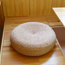 Japanese-style straw futon rattan mat on the ground thick round sitting mat meditation mat tatami mat