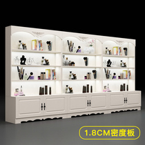 Display case cosmetic display case partition container shelf display rack pharmacy showcase beauty salon product display case