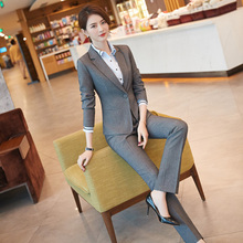 Formal Women's Suit Workwear New Spring and Autumn Fashion Temperament Business Suit Interview Suit Professional Women