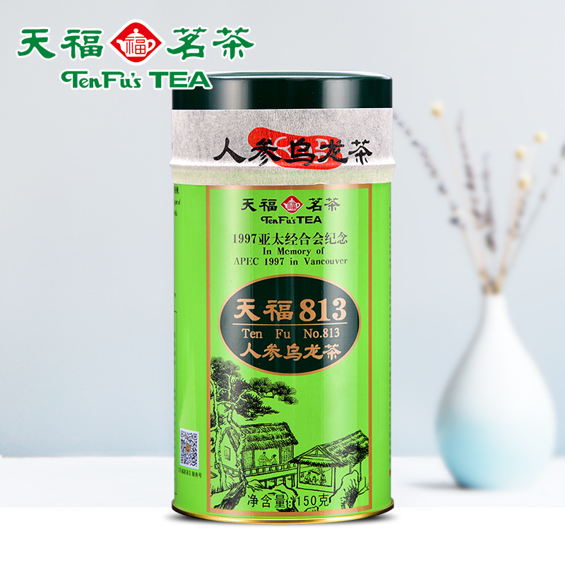 Tenfu Tea 813 Ginseng Oolong Tea Fujian Alpine Tea Gift Tea Canned 150g