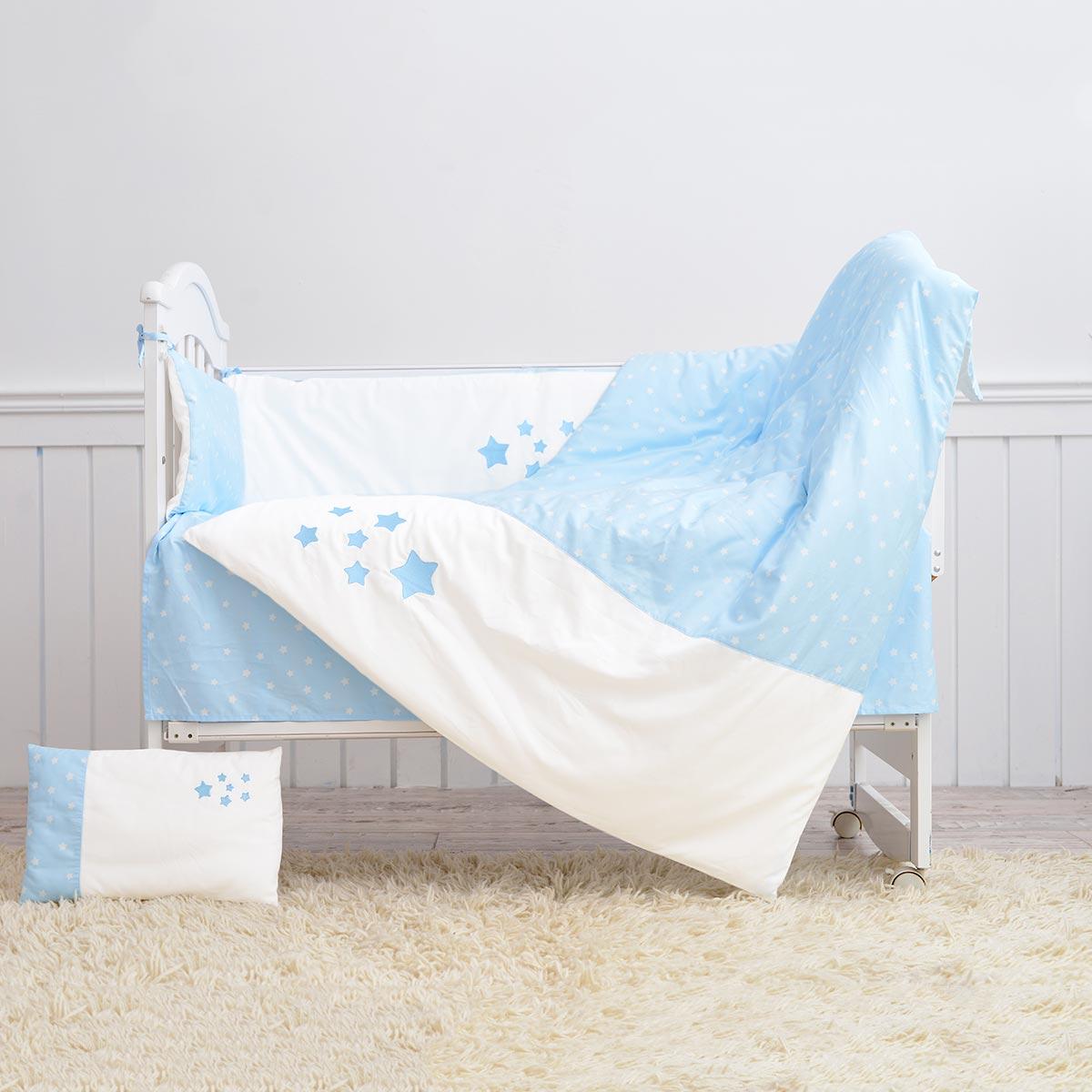 Mercury baby хлопок хлопчатобумажная ткань Детский сад детская кроватка комплект продуктов Baby Hope star постельное белье