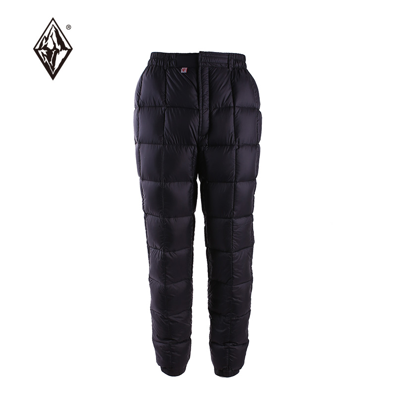 Black Ice 2017 Aurora Series 100200 Outdoor Ultra-light Warming White Goose Down Pants