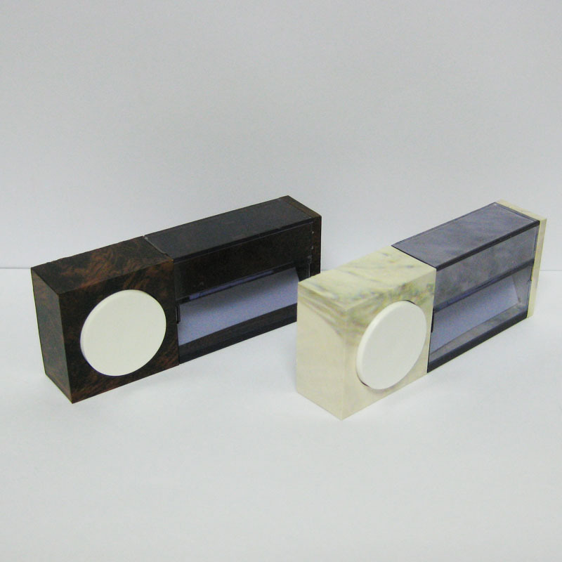 Legrand doorbell button Doorbell button Available in wood and marble
