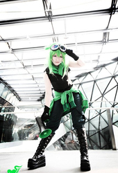 VOCALOID Gumi Cosplay costumes