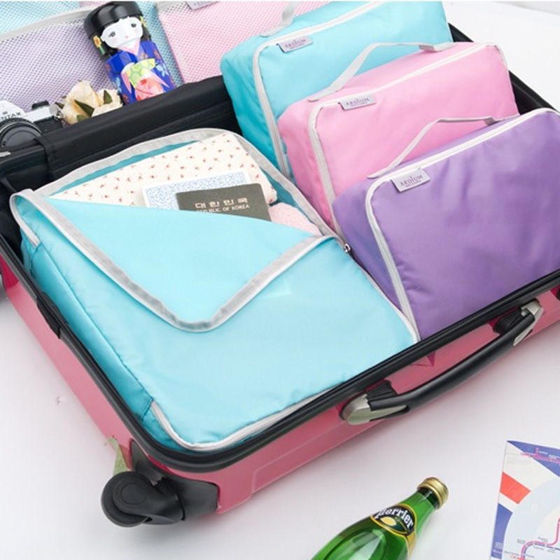 Na Cai Multifunctional Travel Storage Bag Storage Bag Household Storage Organizer 1 Large 3 Small 4 pieces
