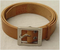 3521 Authentic Pilot Pure Cattle Leather Belt/Belt (Brown/Black)