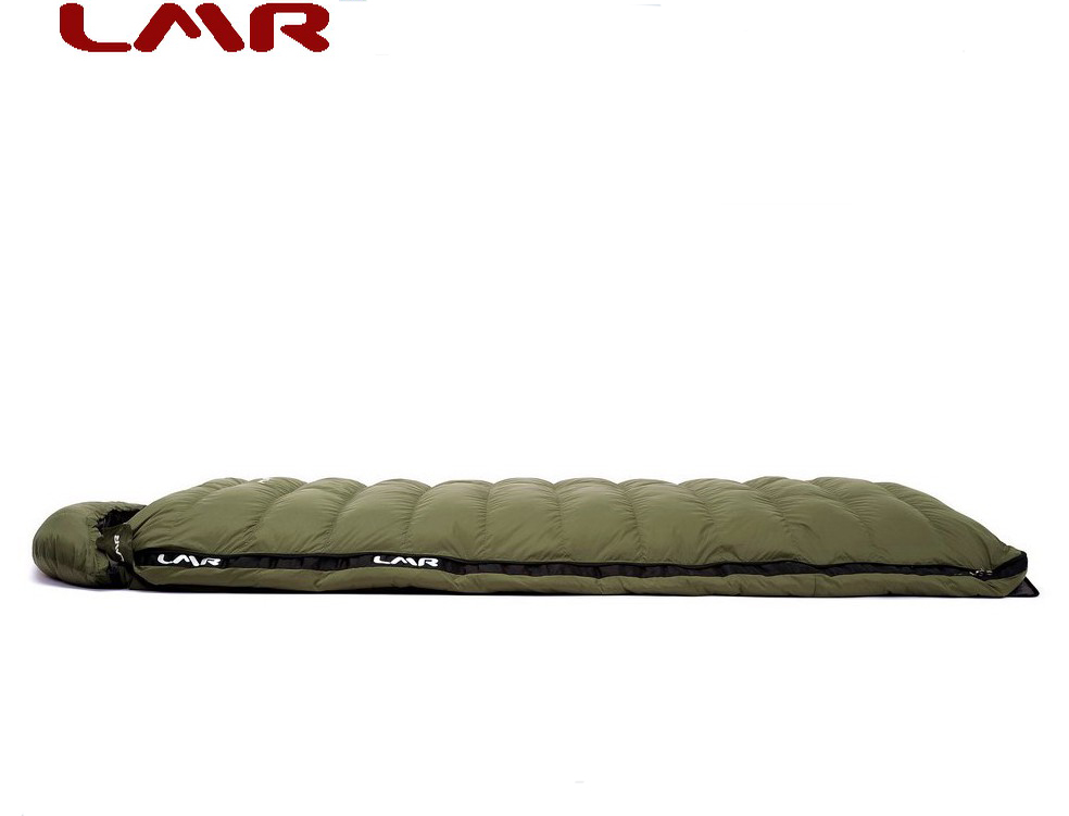 LMR Ultra-light Down Sleeping Bag Outdoor Adult Envelope Type Packing 800 g Spring, Autumn and Winter Comfort-5 C