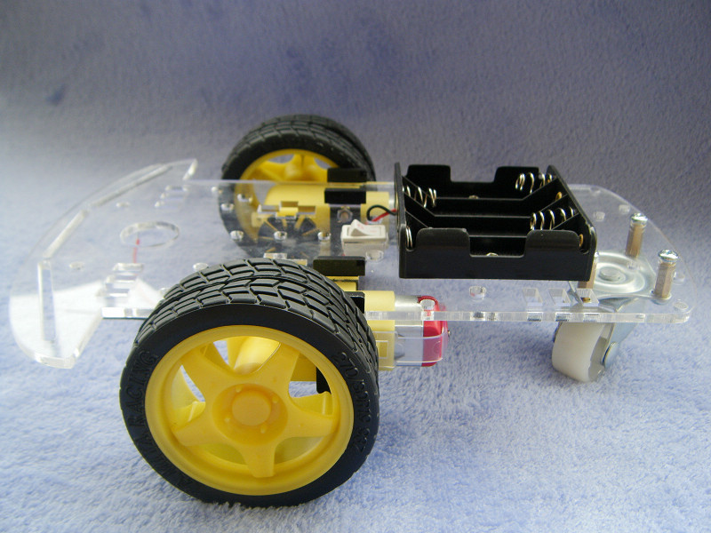 Smart Car Chassis/Tracking Car/Robot Car Chassis/Strap/Speed/Send Battery Box