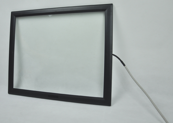 Manufacturer's package of 17 inch surface acoustic wave touch screen plastic waterproof touch screen 4:3 square screen USB cable