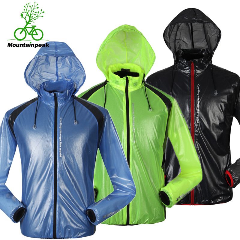 MTP riding raincoat windbreaker male outdoor mountain bike poncho female sunscreen skin windbreaker transparent bicycle clothing
