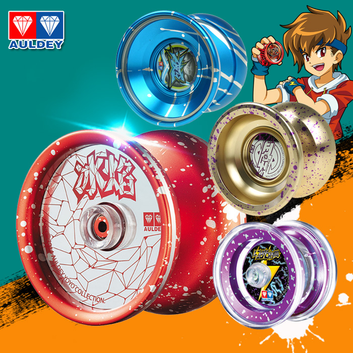 Audi Double Diamond Firepower Junior Wang 5 Ice Flame Yo-yo, Electro-optic Elf, Metal Yo-yo