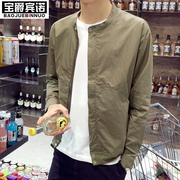 Summer men's jacket men's super thin coat youth breathable sunscreen clothing