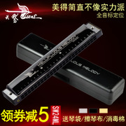 The 24 hole harmonica Swan C tremolo playing musical instruments for students of adult beginners entry self-study children harmonica