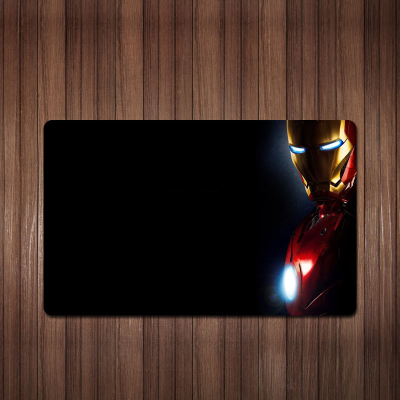 Shuge DIY Manual Mouse Pad Movie Iron Man Super Thick Flavorless Customized Mouse Pad 2 Send 1 Pack of Mail