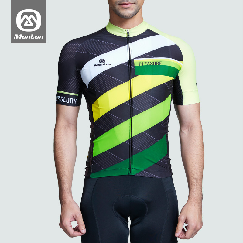Monton Pulse 16-dimensional short-sleeved jacket breathable quick-drying recreational equipment men and women mountain bicycle cycling clothing