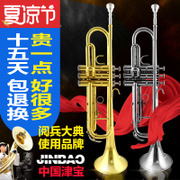 The trumpet instrument professional Bao JBTR-830 manufacturers selling gold silver trumpet beginner B flat