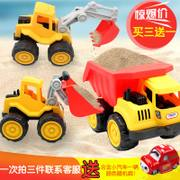 Car dumper Playsets excavator bulldozer 2-6 sliding toy boy children project