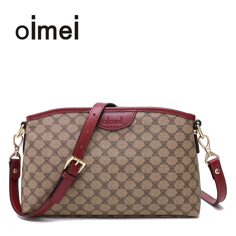Oimei flagship store handbag middle-aged mother bag new shoulder Messenger bag female Korean version of the small bag ladies bag