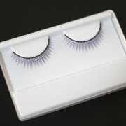Baby with false eyelashes curl natural purple gentle seductive lash color L BJD makeup super 4D SOOM, AS