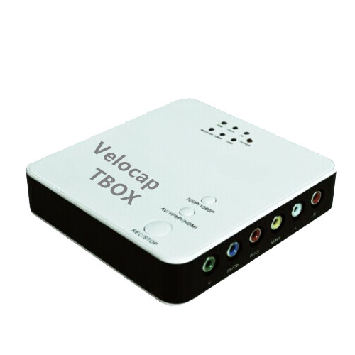 1080P full HD HDMI / component / composite video external recording box / capture card
