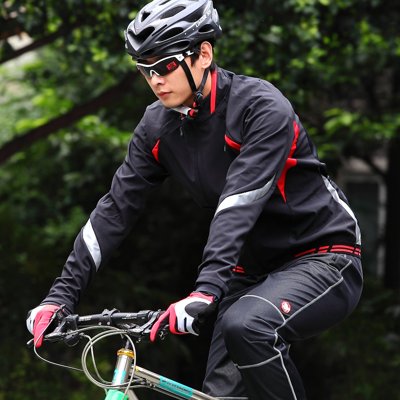 Speed League LANCE SOBIKE autumn and winter bicycle Jersey long-sleeved fleece suit men's Aurora Grimm