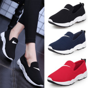 Sports shoes 2017 spring summer new Korean all-match running foot pedal mesh lazy casual shoes Le Fu