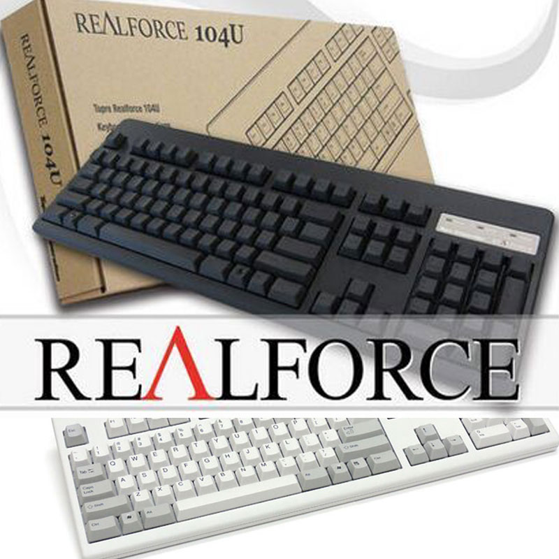 Defensive Front/Realforce 87u 104u Black/White Static Capacitance Keyboard Partition Pressure SF