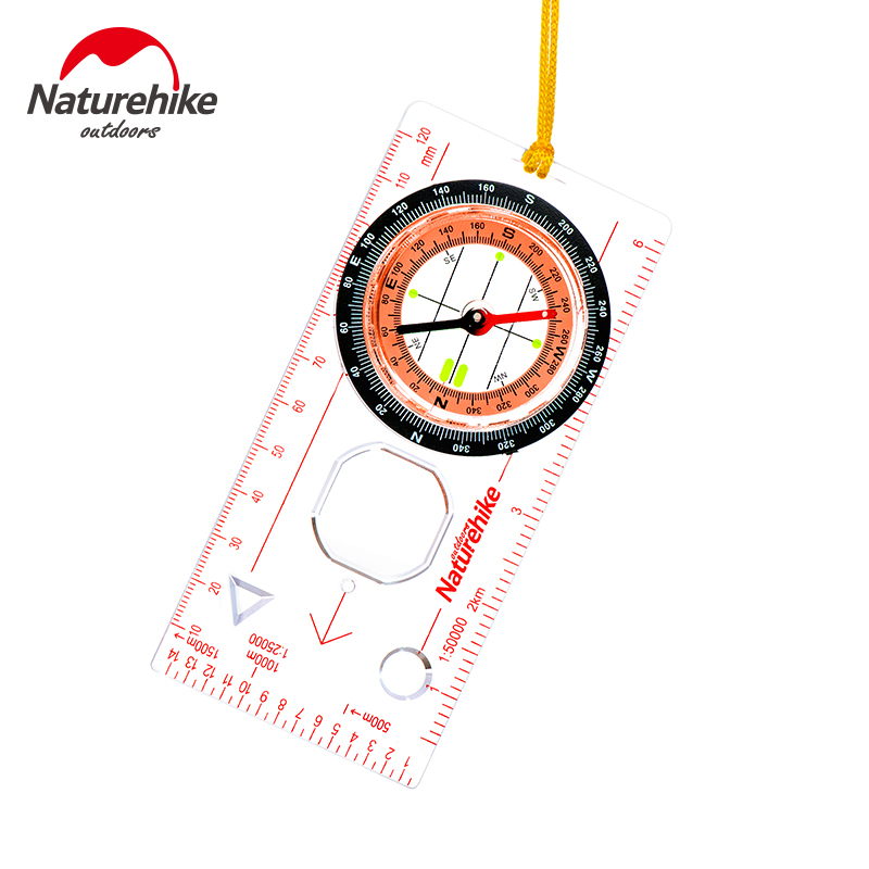 NH Walking Through Finger North Compass Multifunctional Compass with Scale Directional Off-road Competition Delivery Bag