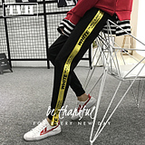 Spring new casual pants men's fashion wild trousers teenager Slim pants pants students trend pants men