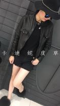 Haining leather leather 2016 European fashion season in autumn and winter the new ladies short Sheepskin jacket