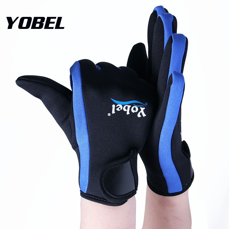 Outdoor sports surfing diving gloves Warm 2MM thickening snorkeling swimming Swimming gloves Water skiing gloves