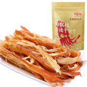 Tmall supermarket becheery shredded squid strip 80g instant shredded squid leisure seafood snacks