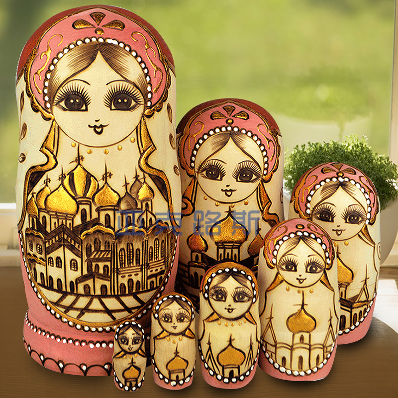 YAKELUS Authentic Tochigi Russian Matryoshka genuine 0707