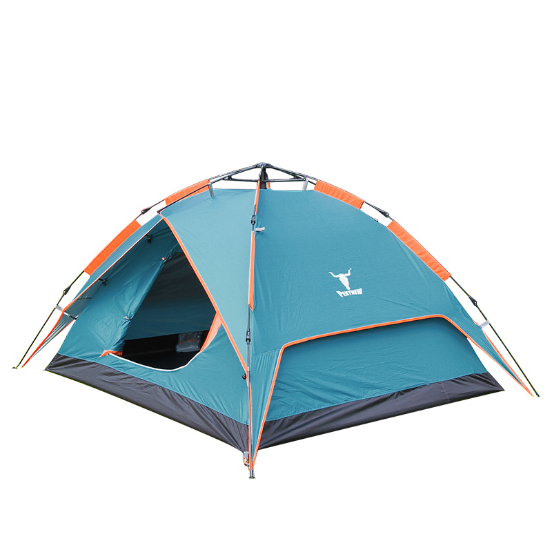 [The goods stop production and no stock]Arctic Cattle Fully Automatic Hydraulic Spring Tent Outdoor 3-4 Persons Suit Family Rain Protection Two Persons Double Layer Camping