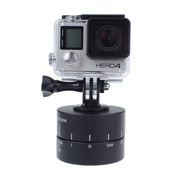 Gopro camera 360 degree panoramic PTZ rotating timing automatic time-lapse photography shooting tab