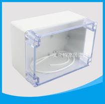 160*110*90mm transparent waterproof box F22T outdoor junction box engineering plastic ABS IP65