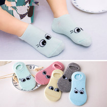 Spring and summer thin cotton children socks mesh breathable socks baby socks for boys and girls aged 1-3-5-7-9