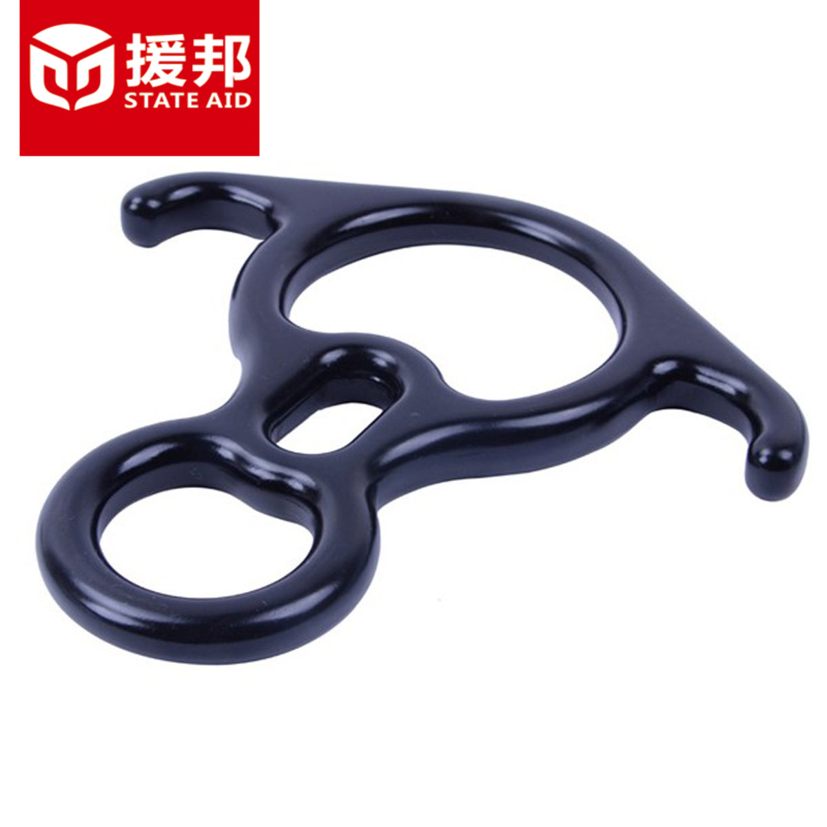 Aidang descending descender 8 word loop descender climbing horns eight character ring 8 word descending horn 8 word ring horn ring