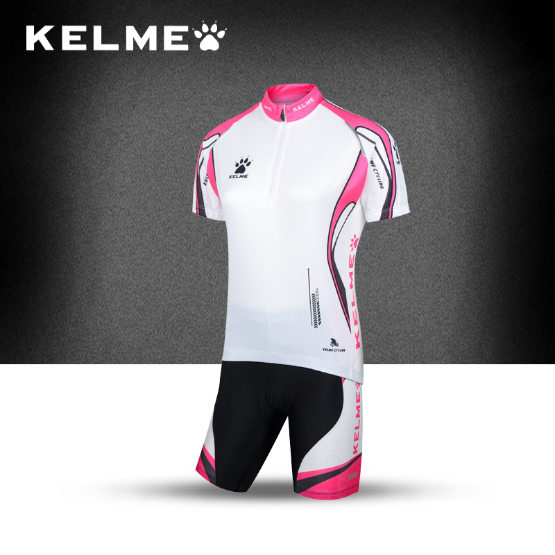 KELME/Kelmei Brand New Bee Line Women's Short Sleeve Jersey Suit Breathable Summer Riding T-shirt