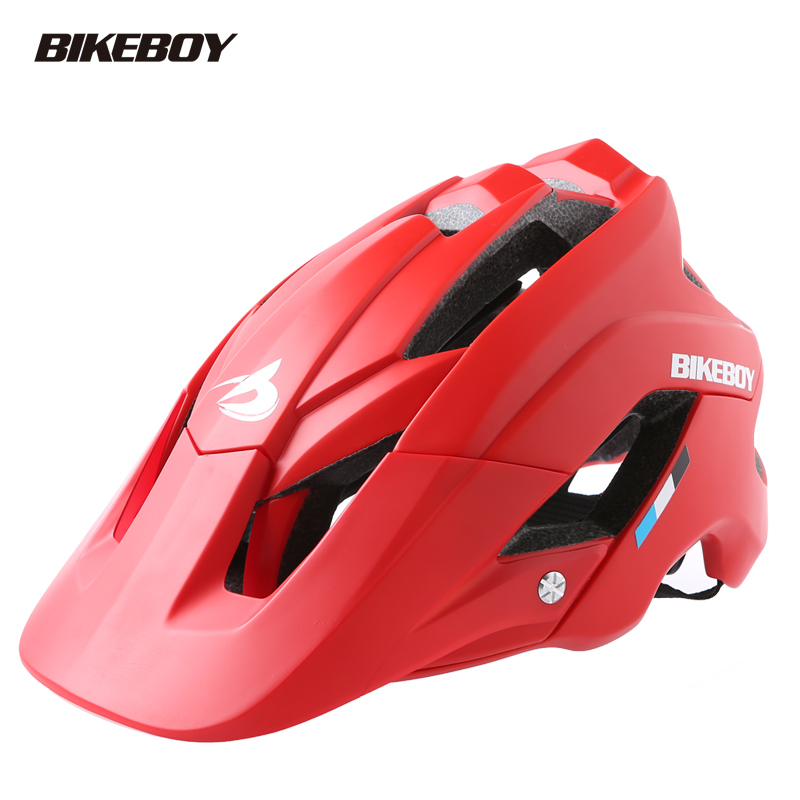 Bikeboy riding helmet bicycle mountainous bicycle integrated formation of male and female road bicycle safety helmet bicycle equipment