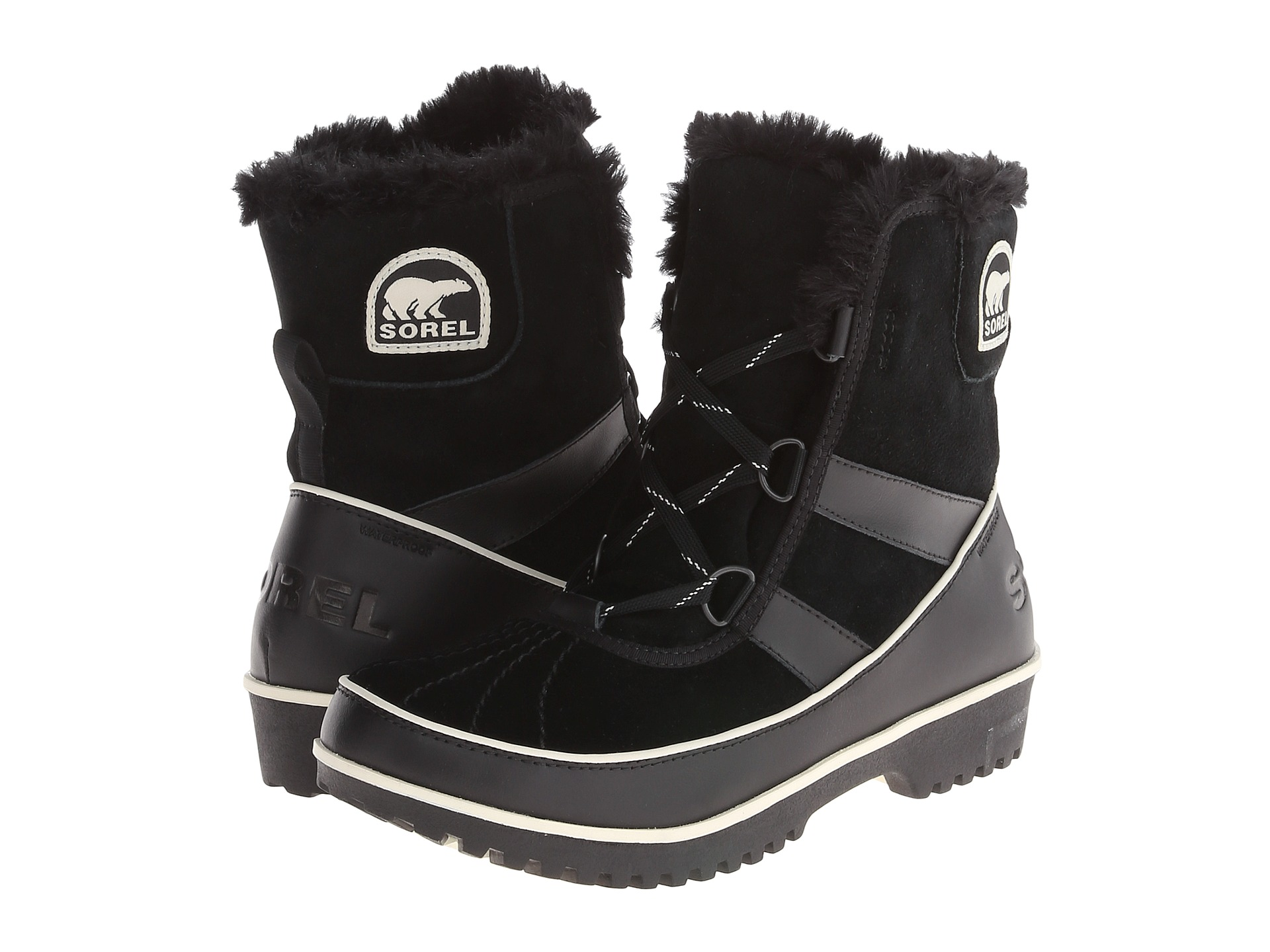 Canadian SOREL Ice Bear Wool Shoes Waterproof and Ski-proof Tivoli II Warming Temperature Scale-20