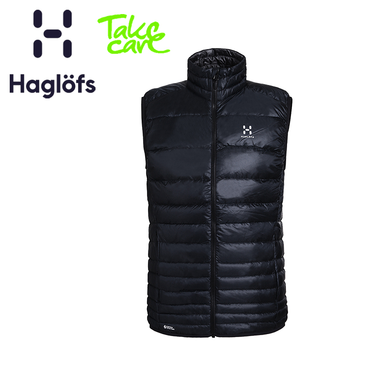 Haglofs matchstick sports outdoor men's lightweight warm wear-resistant comfort down vest 603061